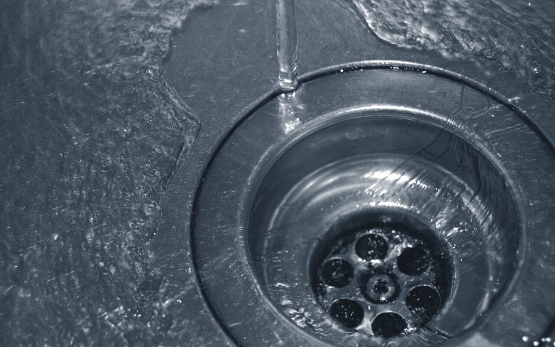 a slow drain can indicate plumbing problems in the home